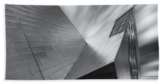 Hand Towel featuring the photograph Contemporary Architecture Of The Shops At Crystals, Aria, Las Ve by Adam Romanowicz