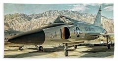 Convair F-102 Delta Dagger Bath Towel