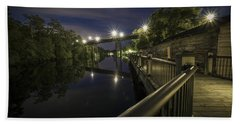 Conway Riverwalk Morning Hand Towel