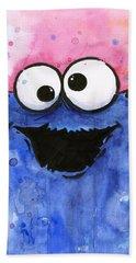 Cookie Monster Hand Towel