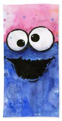 Cookie Monster Bath Towel