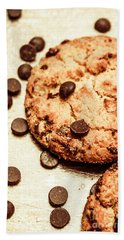 Cookies With Chocolare Chips Hand Towel
