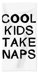 Cool Kids Take Naps- Art By Linda Woods Hand Towel