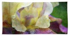 Cool Toned Purple Iris 0319 Idp_3 Hand Towel