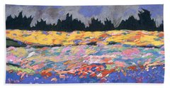 cooney sunset I Bath Towel