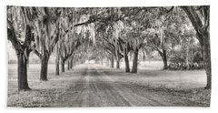 Coosaw Plantation Avenue Of Oaks Bath Towel