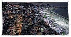 Copacabana Lights Hand Towel