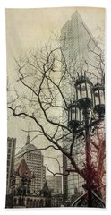 Hand Towel featuring the photograph Copley Square - Boston by Joann Vitali