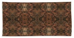 Copper Abstract 1 Bath Towel