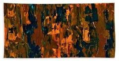 Copper Patina  Hand Towel