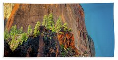 Copse On A Cliff Hand Towel