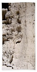 Hand Towel featuring the painting Coral Castle by Nancy Kane Chapman