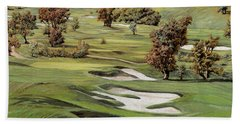 Cordevalle Golf Course Hand Towel by Guido Borelli