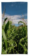 Bath Towel featuring the photograph Corn 2287 by Guy Whiteley