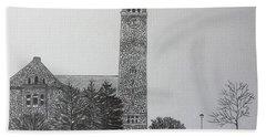 Cornell Clock Tower  Bath Towel