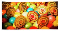 Corner Store Candies  Bath Towel