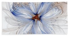 Cornflower Blues Hand Towel