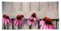 Coneflower Couples Hand Towel