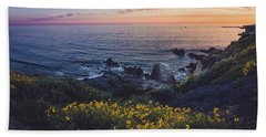 Corona Del Mar Super Bloom Hand Towel