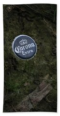 Hand Towel featuring the photograph Corona Extra by Ray Congrove
