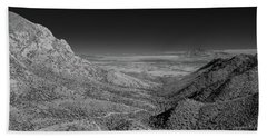 Coronado National Memorial In Infrared Bath Towel