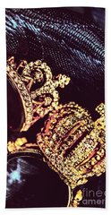 Coronation Of Jewels Hand Towel