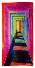 Corridor Hand Towel by Viktor Lazarev