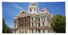 Coryell County Courthouse Hand Towel