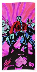 Cosmic Guardians Of The Galaxy 2 Bath Towel