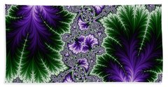 Cosmic Leaves Bath Towel