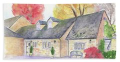 Cotswolds Cottage Hand Towel