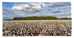 Cotton Field Bath Towel
