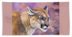 Cougar, Catamount, Mountain Lion, Puma Bath Towel