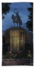 Coulter Memorial, Jackson, Wyoming Bath Towel