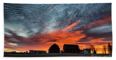 Country Barns Sunrise Bath Towel