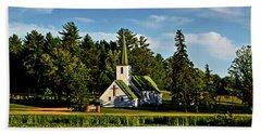 Country Church 003 Bath Towel