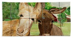 Country Companions Hand Towel