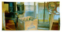 Bath Towel featuring the painting Country Kitchen Sunshine II by RC deWinter
