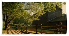 Country Morning - Holmdel Park Bath Towel