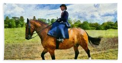 Hand Towel featuring the photograph Country Ride by Scott Carruthers