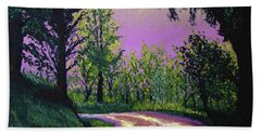 Country Road Bath Towel by Stan Hamilton
