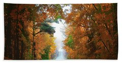 Country Roads Hand Towel