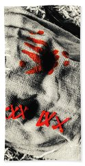 Countryside Of Terror Hand Towel