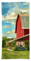 County G Classic Station Hand Towel by Trey Foerster