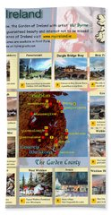 County Wicklow Montage Hand Towel