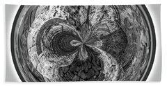 Courtyard Orb Hand Towel by Judy Wolinsky