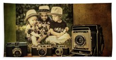 Cousins And Cameras Hand Towel