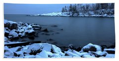 Cove Point Lodge Lake Superior Minnesota Bath Towel
