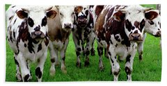 Cow Group Hand Towel