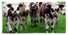 Cow Group Bath Towel